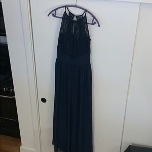 Navy Bridesmaid/Prom Dress - B2 Jasmine